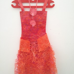 Aviva Sawicki recycled dress design