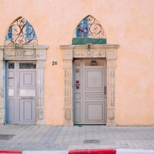 Doors in Jaffa