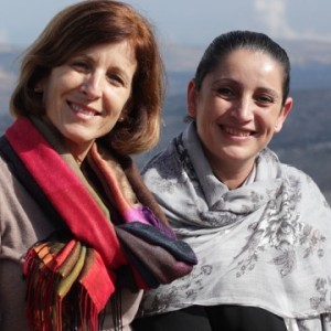 Breaking Bread Journey co-founders Elisa Moed and Christina Samara